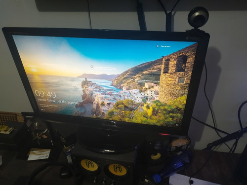 pc gamer c/ monitor de 23