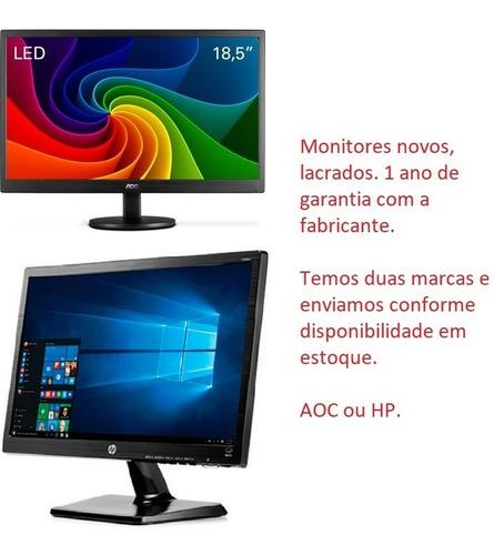 pc gamer completo 8gb 1tb monitor 18.5 wide geforce 710 2gb
