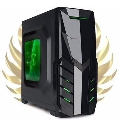 pc gamer completo a4 3.9ghz / 8gb fury / 500gb / monitor 19