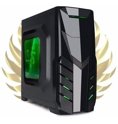 pc gamer completo a4 4.0ghz / 8gb fury / 500gb / 500w real