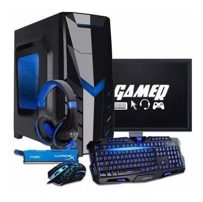 pc gamer completo amd a4 6300 3.9ghz 8gb + gtx 1050