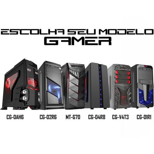 pc gamer completo asus fx 8300 ddr3 8gb hd 1tb gtx 1050 2gb