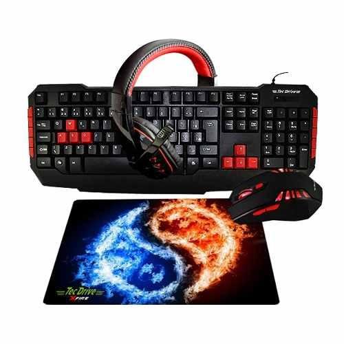 pc gamer completo gt710 / teclado , mouse e headset gamer