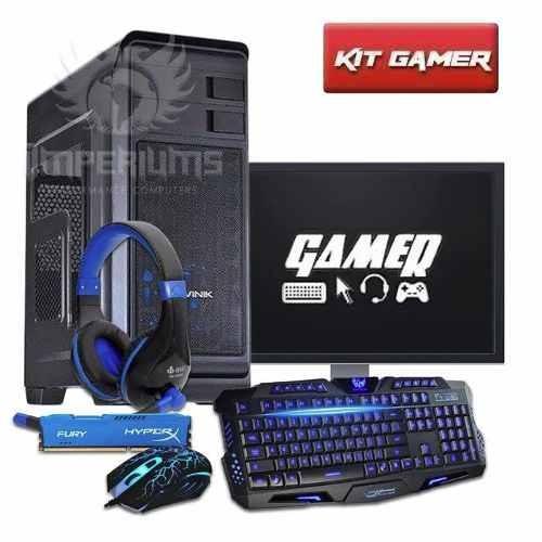 pc gamer completo i5 / 8gb / gtx 1060 / 1tb