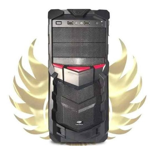 pc gamer completo i5 - gtx 1050 ti 4gb - 8gb - 1 tb - 19 pol