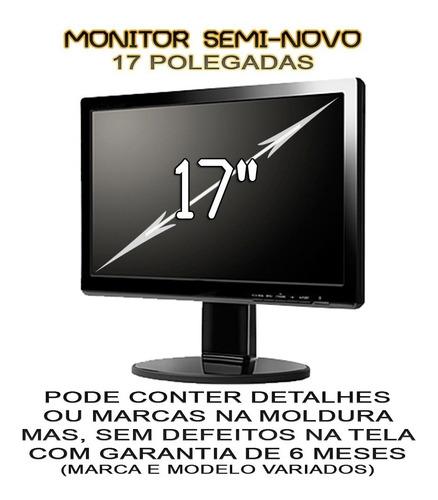 pc gamer completo quad 8gb geforce + tela 17'' / hd500gb