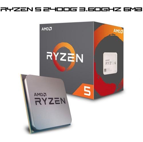 pc gamer completo ryzen 5 2400g 8gb 1tb fonte 500w