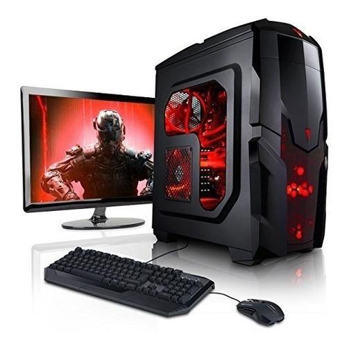 pc gamer completo teclado e mouse gamer headset monitor 20