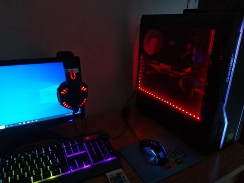 pc gamer completo usado gabinete fumê geforce 9800gt usado