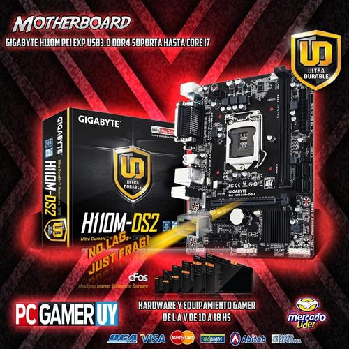 pc gamer compu core i5 8gb ddr4 gtx1050 1tb wifi pcgamer-uy