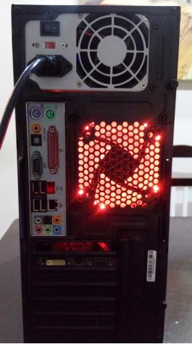 pc gamer core 2 duo e7500 2.93ghz, 4gb ddr2 e 500gb hd