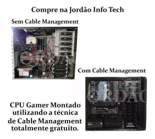 pc gamer core i3 + gtx 750ti 2gb + 8gb memória + ssd + hd