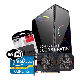 Pc Gamer Core I5 + Rx 550 2gb + 8gb Memória + Hd 500gb