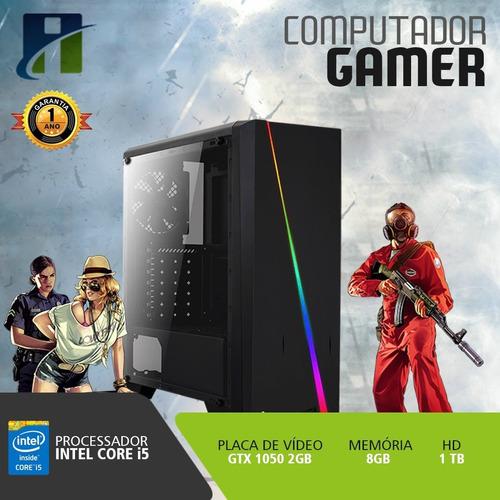 pc gamer core i5 3.3ghz, 8gb, 1tb, gtx 1050 2gb