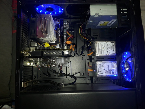 pc gamer core i5 4° + gtx 950+12 gb +1t e 500 hd com wifi