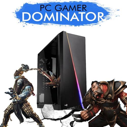 pc gamer core i5-7400 r9 380 2gb 1tb 8gb ram + nfe