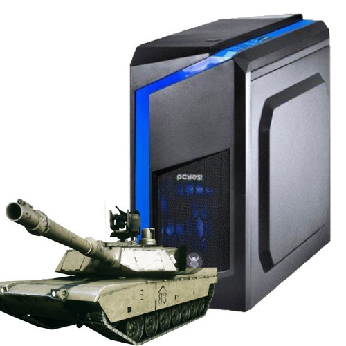 pc gamer core i5-7400, rx 550, 1tb, 8gb ram + nfe