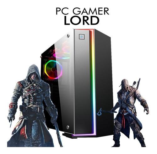 pc gamer core i5-8400 gtx 1660 6gb 1tb, 8gb ram + nfe
