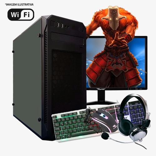 pc gamer core i5, 8gb ram, gt 710 2gb, hd 1tb completo