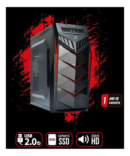 pc gamer core i5 + gtx 1060 6gb + 8gb ddr3 + hd500gb