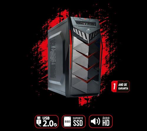 pc gamer core i5 + rx 550 2gb + 8gb memória + hd 500gb