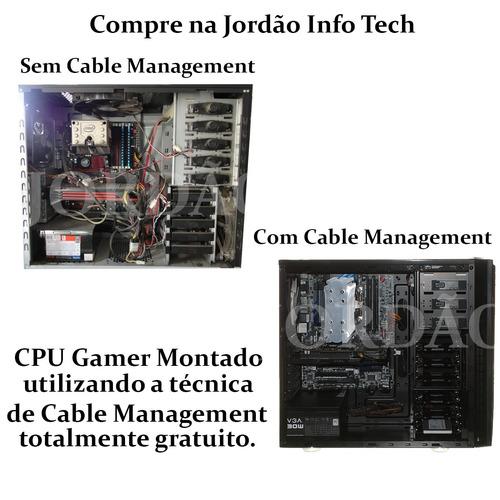 pc gamer core i7 3770 + gtx 1050ti 4gb + 16gb ddr3 + 1000gb