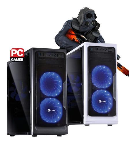 pc gamer core i7 + gtx 1050ti 4gb + 8gb memória + ssd 240g