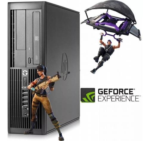 pc gamer core2duo 4gb + ssd + gt710 + fortnite instalado!