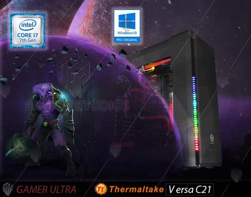 pc gamer - corei7(7ma) - gtx1080 / 2 tb / 240 ssd - void