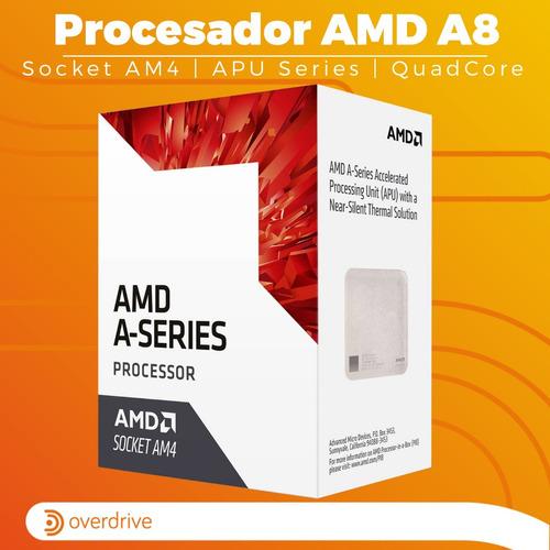 pc gamer cpu amd a8 9600 am4 radeon r7 a320 hdmi 8gb 1tb 12c