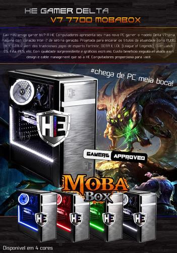 pc gamer cpu delta intel i7 7700 8gb ddr4 gtx 1050 ti top