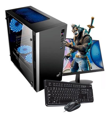 pc gamer cpu intel i5 9400 8gb ram wifi gt 1030 led  19 h4