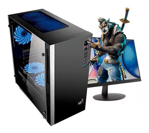 pc gamer cpu intel i5 9400 8gb ram wifi  + monitor 19
