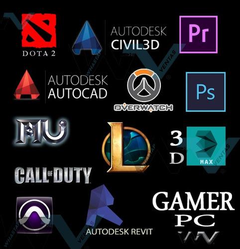 pc gamer cpu intel i7, 4.0ghz(8 nucleos) 1tb ultra gamer