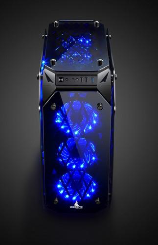 pc gamer crystal storm x: gtx 1660 6gb ryzen 3600 16g render