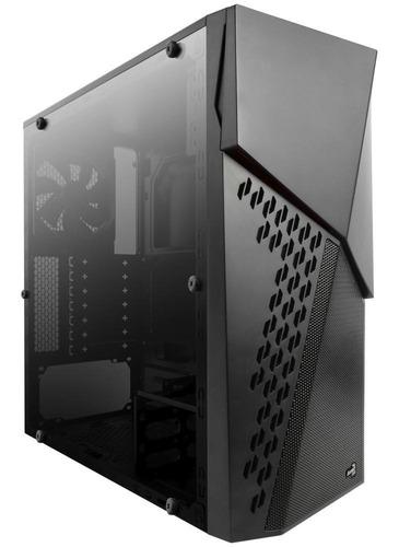 pc gamer cyber x: ryzen 2400g + vx-500w + 8gb ram + ssd 480g