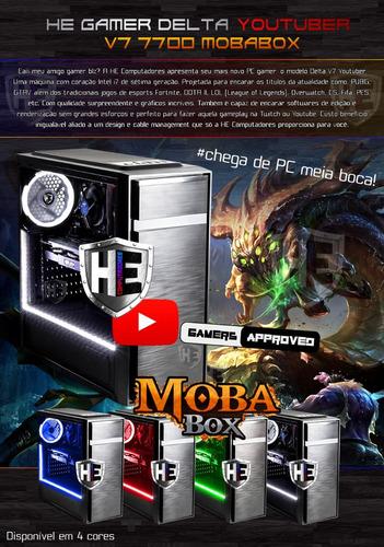 pc gamer edição cpu i7 7700 16gb 1tb ssd gtx 1050 ti pro