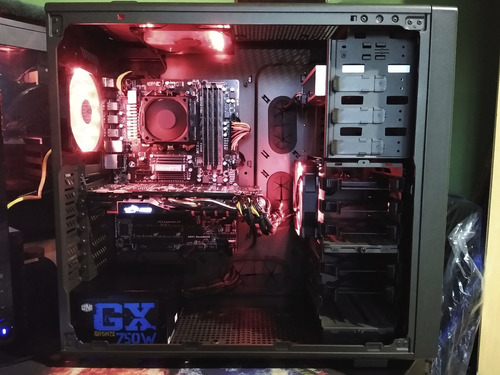 pc gamer fx 8320 + gtx 970 4gb + 16gb ddr3 + ssd 240gb