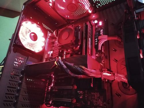 pc gamer fx 8350 + gtx 1060 6gb + 8gb ddr3 + ssd 240gb