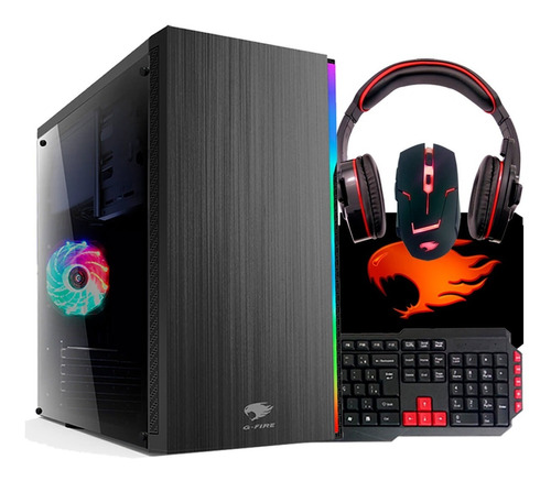 pc gamer g-fire a10 9700 8gb 1tb r7 2gb integrada htg-280
