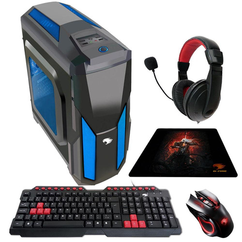 pc gamer g-fire amd fx 6300 4gb (radeon r7-240) 500gb