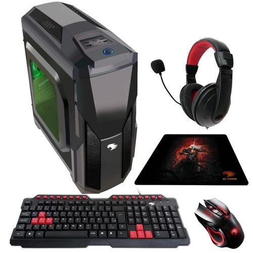 pc gamer g-fire htg-333g amd fx 6300 4gb radeon r7-240 500gb