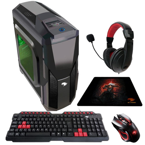 pc gamer g-fire htg-334g amd fx 6300 4gb pv r7-360 2gb 500gb