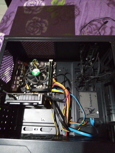 pc gamer i3 ram 8 gb placa de video de 4gb