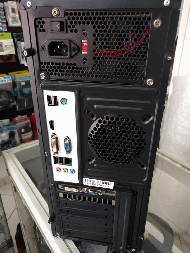 pc gamer i5 2500 4gb hd 500 gabinete gamer mt g50bk r. Black Bedroom Furniture Sets. Home Design Ideas
