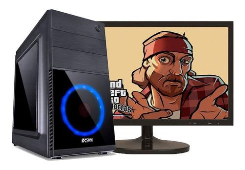 pc gamer i5 8gb / 500gb + ssd veloz / geforce 2gb + tela 22