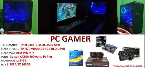 pc gamer i5 + rx 470 + 8gbram
