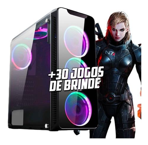 pc gamer i7 7700 gtx 1060 6gb 16gb hd 1tb 500w 80plus h110m