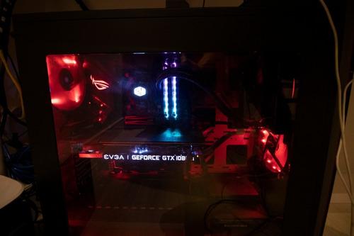pc gamer i7 8700k 32gb ram 1080ti 516gb m.2 - top