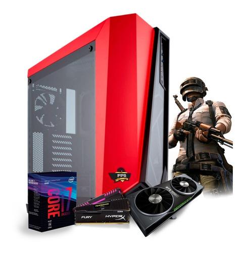 pc gamer i7 8700k ga-z370m aorus gaming gtx1070ti water 16gb
